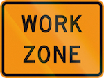 Work Zone sign