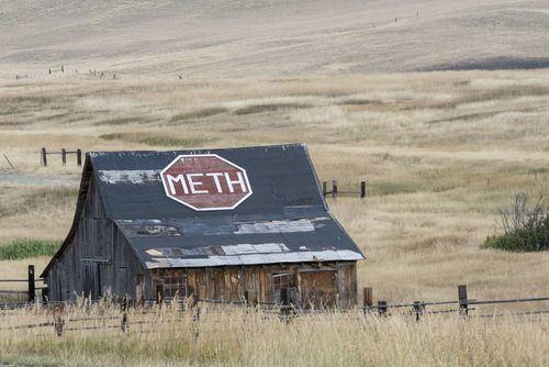 a meth house