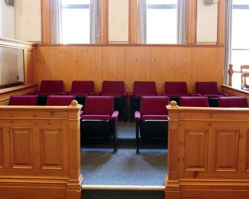 trial jury box