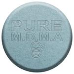 Grey ecstasy pill