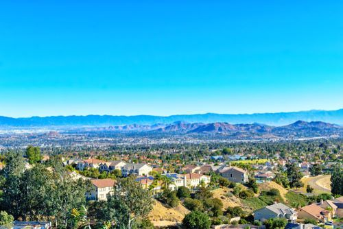 expansive view of the inland empire