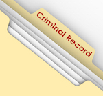 "File folder titled ""Criminal Record"""