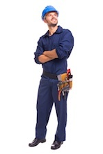 Male contractor