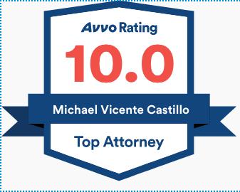 AVVO 10.0 top lawyer badge