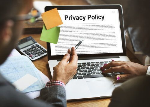 California Invasion of Privacy policy screen