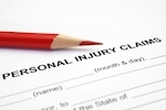 "Paper that says ""personal Injury"" claims"