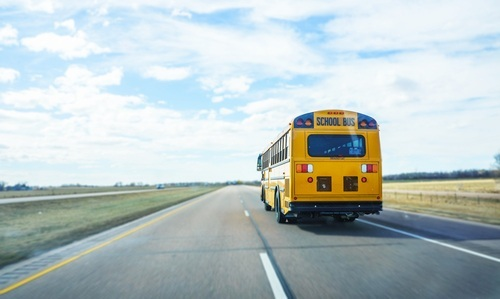 moving school bus legal defense california