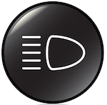 black headlight symbol