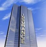 """skyscraper with """"insurance"""" written on it"""