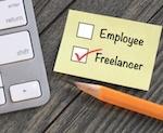 """Checked box next to """"freelancer"""""""