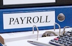 "binder that says ""payroll"" on spine"