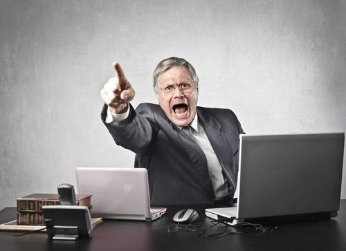 post termination angry boss california legal defense