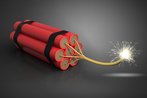 california explosives law dynamite tnt