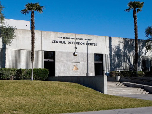 exterior of central detention center california