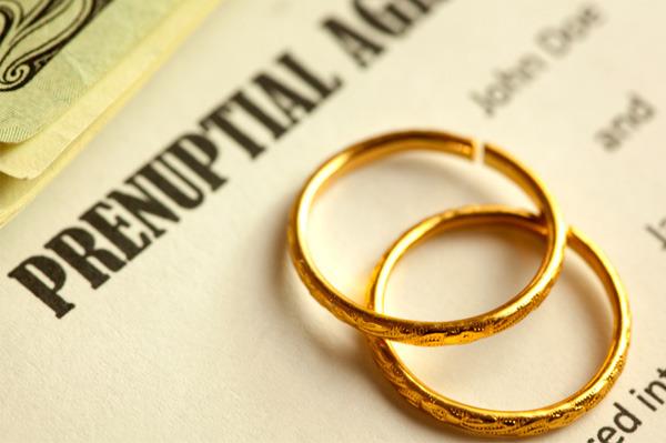 Prenup rings