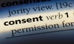 consent in the dictionary