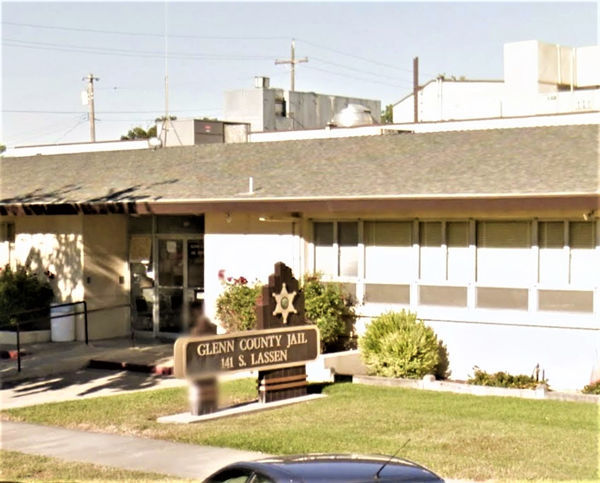 exterior of glenn county jail california