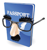 passport with mask