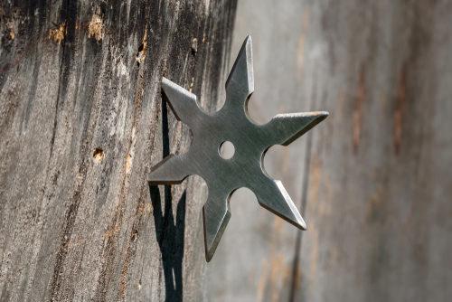 ninja star shuriken california law