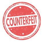 counterfeit stamp