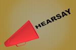 horn saying hearsay
