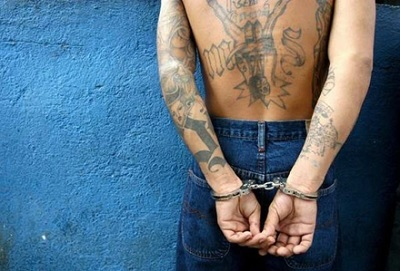 Img gang tattoo handcuffs