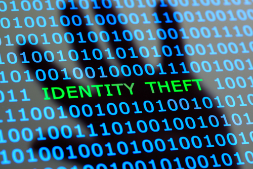 identity theft sign; using a fake identity is a crime in Nevada under several statutory sections