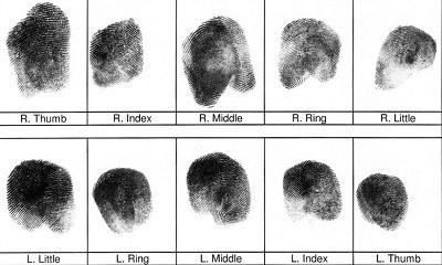 Img gun fingerprint