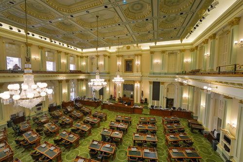 california state assembly floor