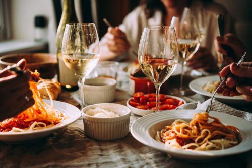 food wine dinner