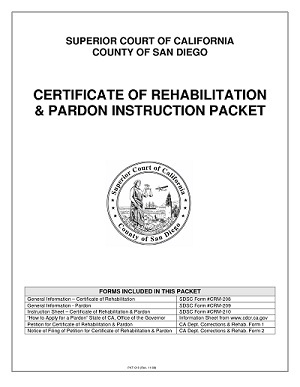 Img rehab pardon packet