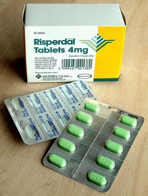 A box of risperdal