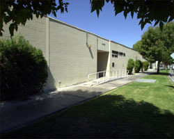 Exterior of the Indio Jail