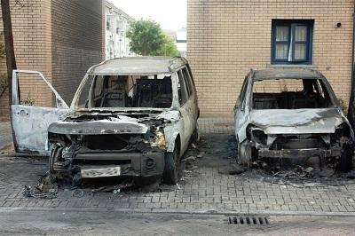 Img burned car fraud