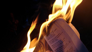 burning paper (NRS 199.220)