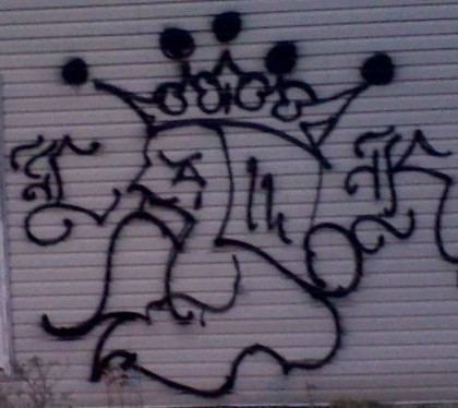 Img latin king graffiti