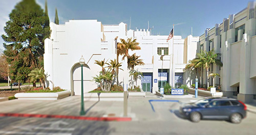 exterior of beverly hills jail