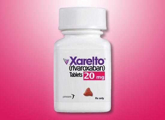 xarelto pill bottle