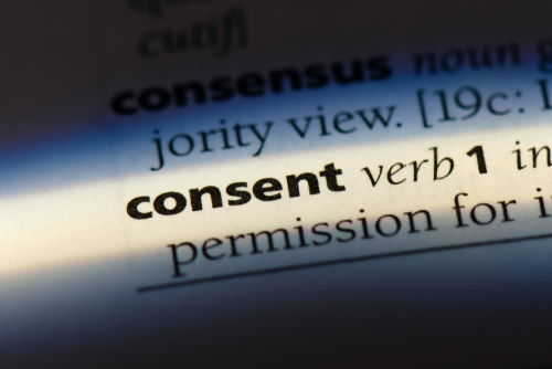 consent in dictionary