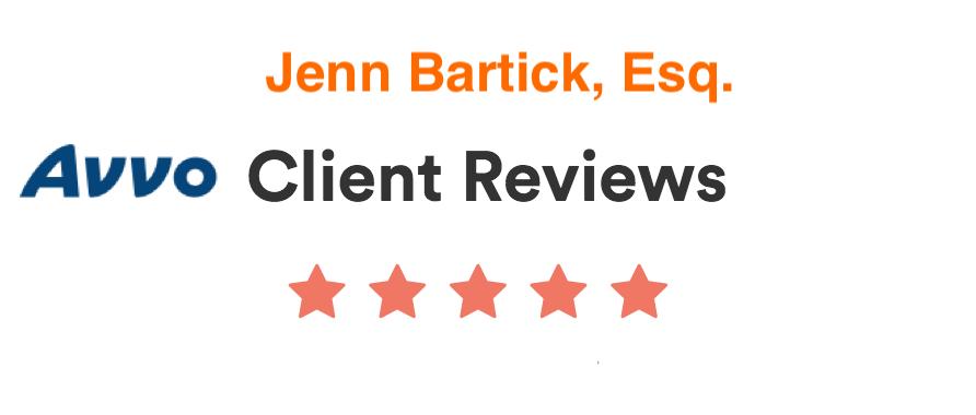 Avvo Client Reviews for Jenn Bartick