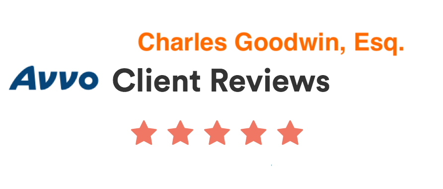 Avvo client reviews for Charles Goodwin