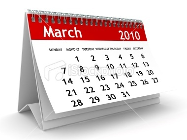 Calendar-set-to-March-2010
