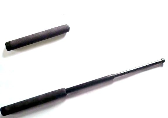 a leaded cane metal baton, possession of which violates 22210 PC