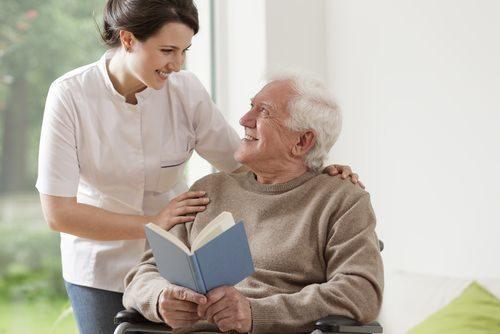 senior citizen with dementia