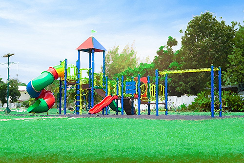 children's playground - California sex offender resident restrictions can preclude a person from living near a park or school