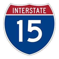 Freeway Sign 15 Ontario