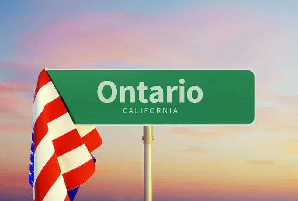 Ontario california history