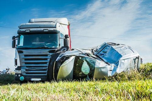 Semi Truck Car Accident