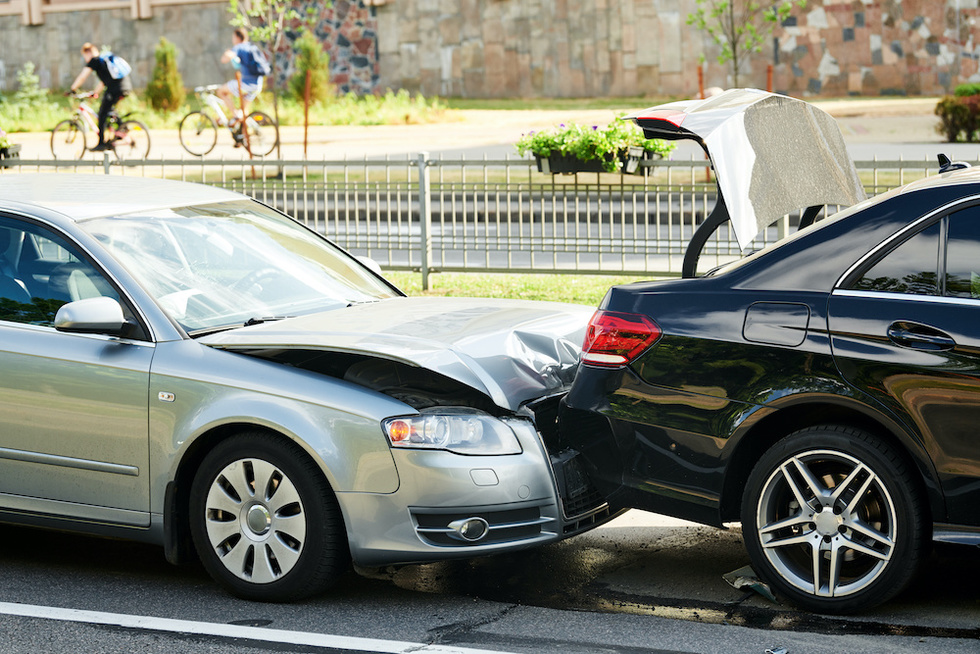 Car Collision Coronavirus