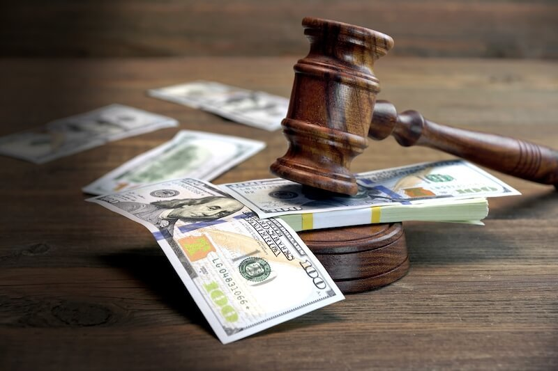 Bigstock bundle of money judges gavel 98308352